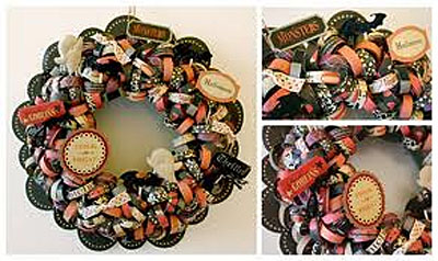 halloween fall wreath a cherry on top